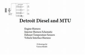 Detroit Diesel Electronic Items And Manuals