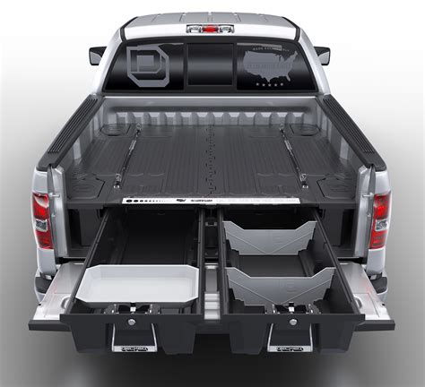 decked truck bed storage drawers van cargo organizers