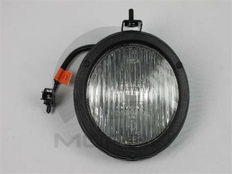 fog light mopar ag fits   jeep wrangler ebay