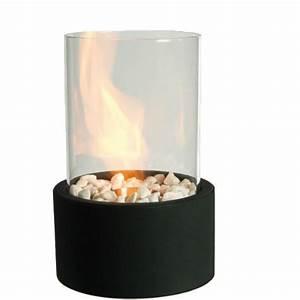 Chauffage à L éthanol : cheminee bio ethanol table ~ Premium-room.com Idées de Décoration