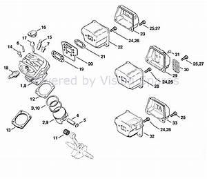 30 Mac 3200 Chainsaw Parts Diagram