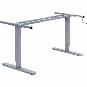 Manual - Adjustable Height Desk Frame