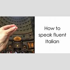 How To Speak Fluent Italian  Bored Panda