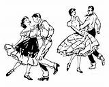 Dance Coloring Pages Square Printables sketch template