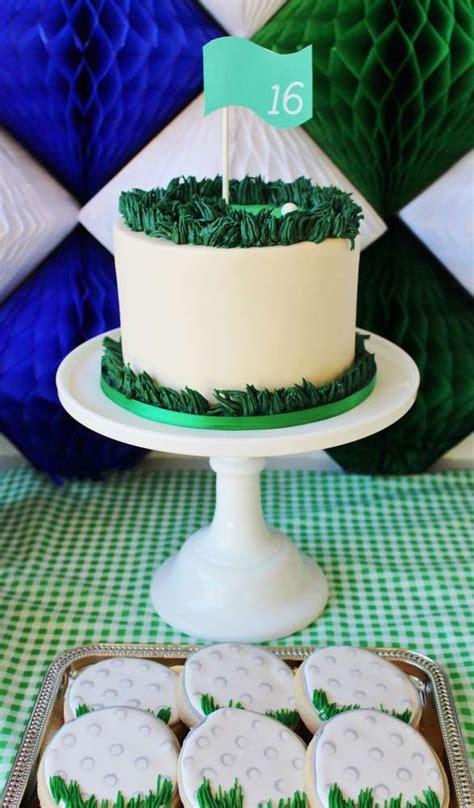 golf birthday cakes ideas  pinterest golf