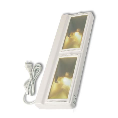 Halogen Cabinet Lighting by Westek 16 In Halogen White In Cabinet Light Uc220hb