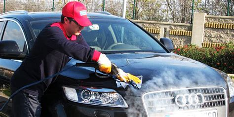car wash service this startup can wash your car in under three liters of water