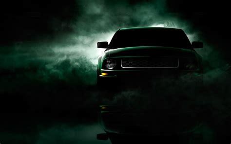 Ford Mustang Gt Black Wallpaper HD