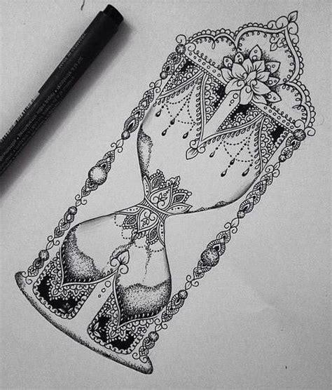 tattoo sanduhr mandala ideen tattoo ideas ronja