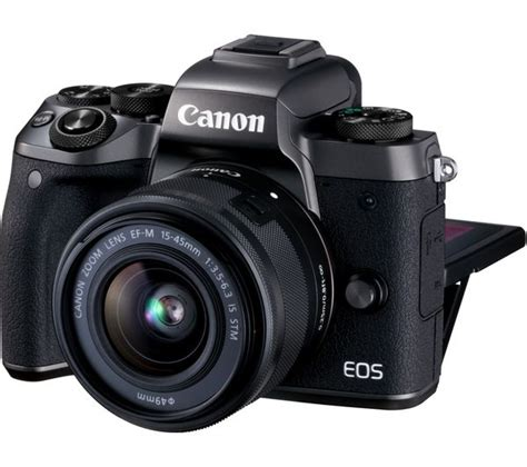 buy canon eos m5 mirrorless accessories bundle free delivery currys
