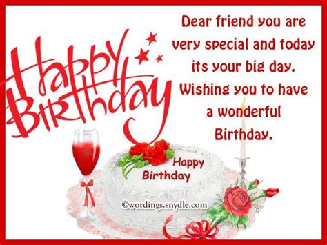 happy birthday wishes   friend  hd template