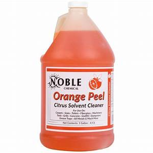 Noble Chemical 1 Gallon Orange Peel Citrus Solvent Cleaner