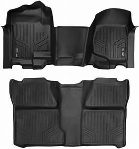 Maxliner Floor Mats 2 Row Liner Set Black For 2007