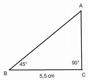 45 Grad Winkel Auf Gehrung : tangens berechnen in einem dreieck mit 45 grad winkel ~ Lizthompson.info Haus und Dekorationen