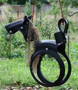 DIY Pony Tire Swing Home Design, Garden & Architecture Blog Magazine