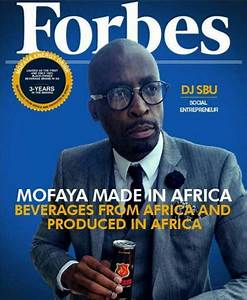 DJ Sbu explains fake Forbes Africa magazine cover