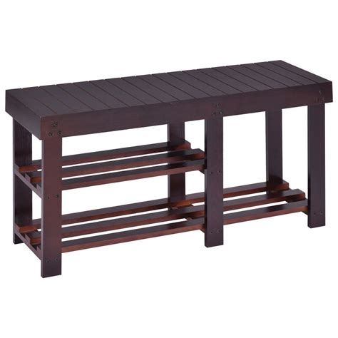 entryway shoe bench wooden shoe bench boot storage shelf organizer seat