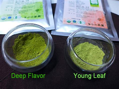 pure organic matcha green tea powder goz