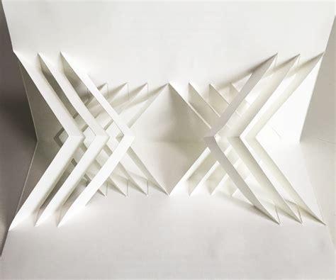 abstract geometric diamond pop  pattern easy diy