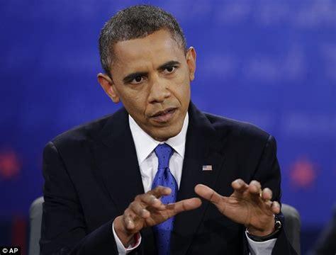 Presidential debate 2012: Obama says Mitt Romney treats