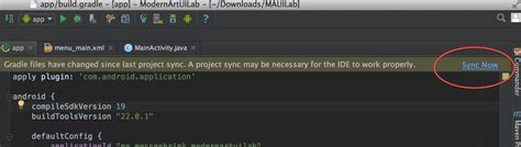 android gradle android studio failed to sync gradle project fix mac
