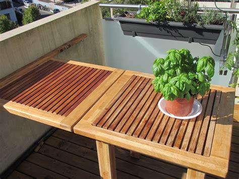teak oak balcony table geneve woodhouse carpentry geneva