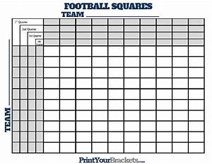 football squares with quarter lines raiders pinterest With football square board template