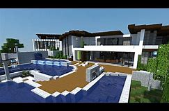 HD wallpapers maison moderne minecraft xbox one ...