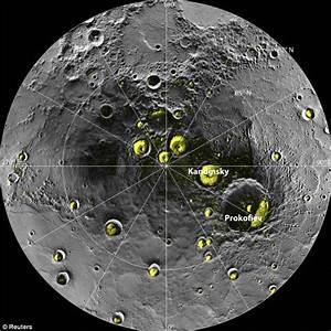 Ice found on Mercury: Nasa probe reveals planet has frozen ...
