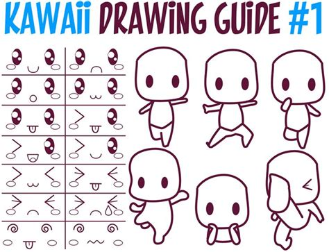 This Is A Huge Guide To Drawing In Kawaii Style (super