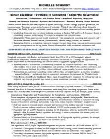 cio resume template free resume sles chief information officer cio banking