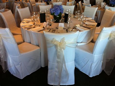 ivory organza chair sash
