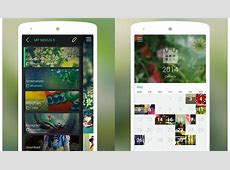 Piktures is a Beautiful Gallery App With Elements of