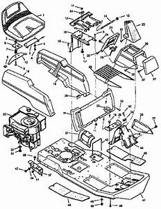 502 251220 Craftsmanj 10 Hp Electric Start 30 Inch Mower 5