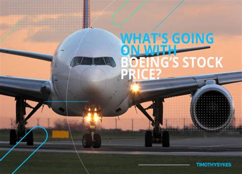 whats    boeings stock price timothy sykes