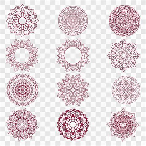 Mandala svg designs for cricut and silhouette. Modern mandala designs set 237183 - Download Free Vectors ...