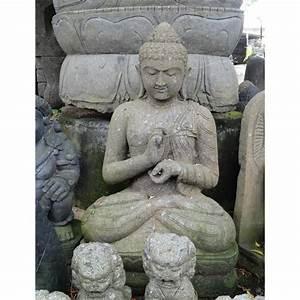 Statue Bouddha Exterieur : bouddha ext rieur en pierre verte arrivage juin 2017 meubles ~ Teatrodelosmanantiales.com Idées de Décoration