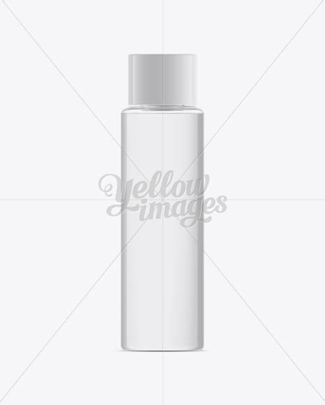 Free beautiful perfume bottle on stand mockup psd. Plastic Cosmetic Bottle W/ Clear Liquid Mockup in Bottle ...