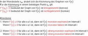 Monotonieverhalten Berechnen : grundlagen und beispiele zur kurvendiskussion ~ Themetempest.com Abrechnung