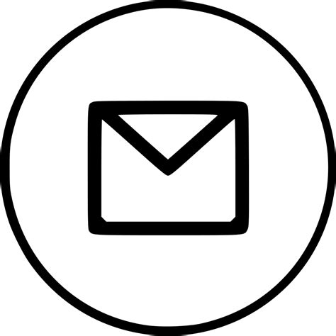 email envelope icon png email envelope letter mail message notification text svg