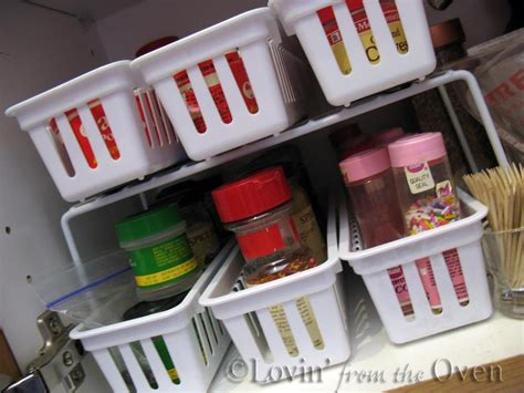Dollar Store Spice Rack by Remodelaholic How To Build A Space Saving Spice Cabinet