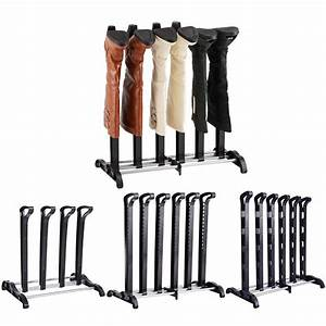 Boot, Rack, For, 3, Pairs, Of, Tall, Boots, Organizer, Black, Standing, Rack, For, Closets, Outdoor, Entryway