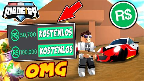 robux umsonst mad city roblox youtube