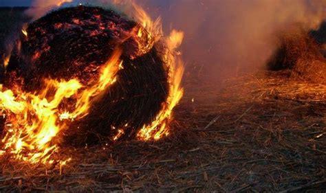 Ražas laikā pieaug ugunsgrēku skaits. Dunavā degušas ...
