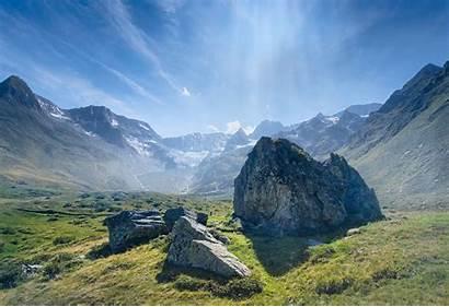 Mountain Valley Mountains Landform Landforms Range Alps