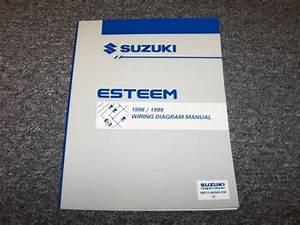 1996 1997 Suzuki Esteem Sedan Factory Original Wiring
