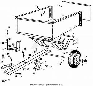 Gravely 50580 Cart Gem  Tractor Parts Diagram For Cart Gem
