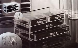 Boite A Bijoux Transparente : boite bijoux transparente ~ Teatrodelosmanantiales.com Idées de Décoration