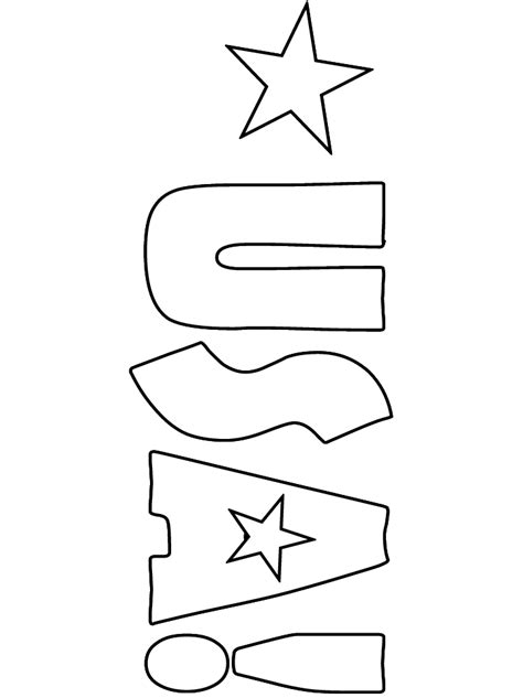 usa pages coloring pages
