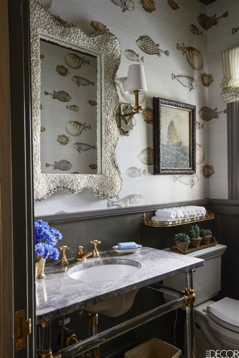 Design Decor by Unique Powder Rooms To Inspire Your Next Remodeling